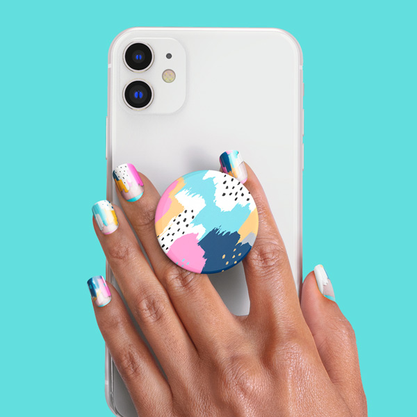 PopSockets Nails Painterly Pastels product